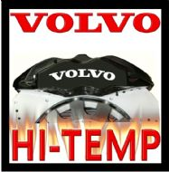 VOLVO HIGH TEMPERATURE BRAKE CALIPER DECAL SET